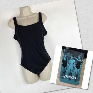 NEW Speed Navy Blue One Piece Swimsuit